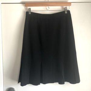 St. John Collection Santana Flounce Flare Skirt 8